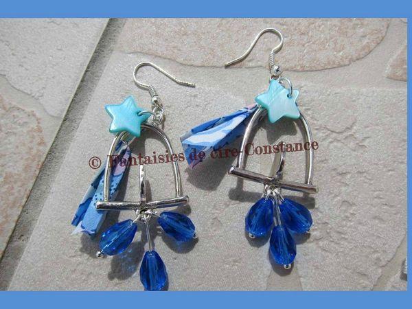 BO bleu Edith