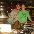 Jamie Hatkins et Napster salle Techno