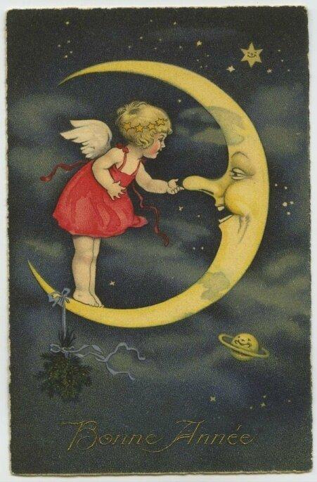 bonne année à la lune