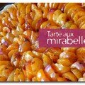Tarte  la mirabelle