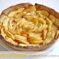 Tarte aux pommes & caramel au beurre salé