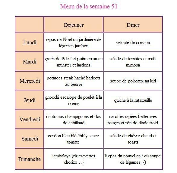 menu 51