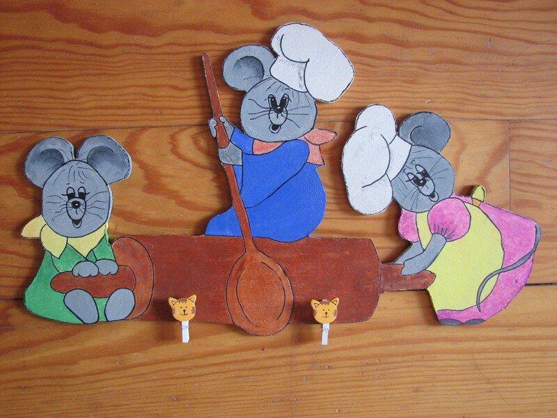souris porte-menu