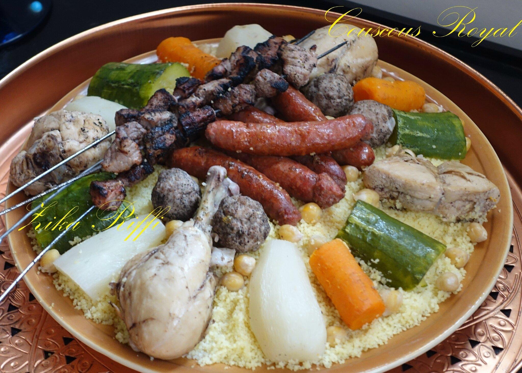 Couscous royal terroir b nois cuisine de zika - Arte la cuisine des terroirs ...