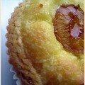 La mirabelle sur le gâteau basque.