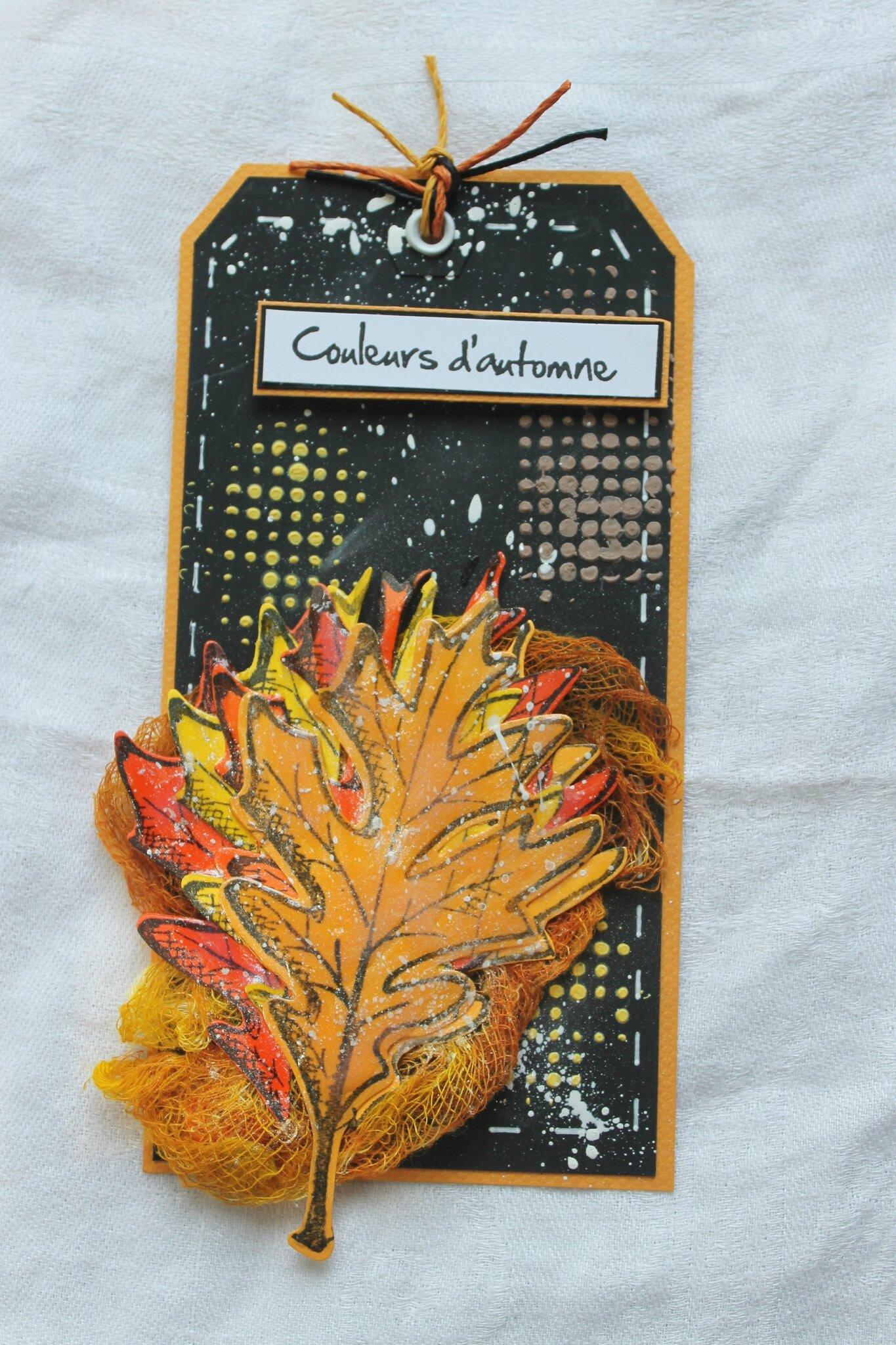 carte/ tag automne 2014