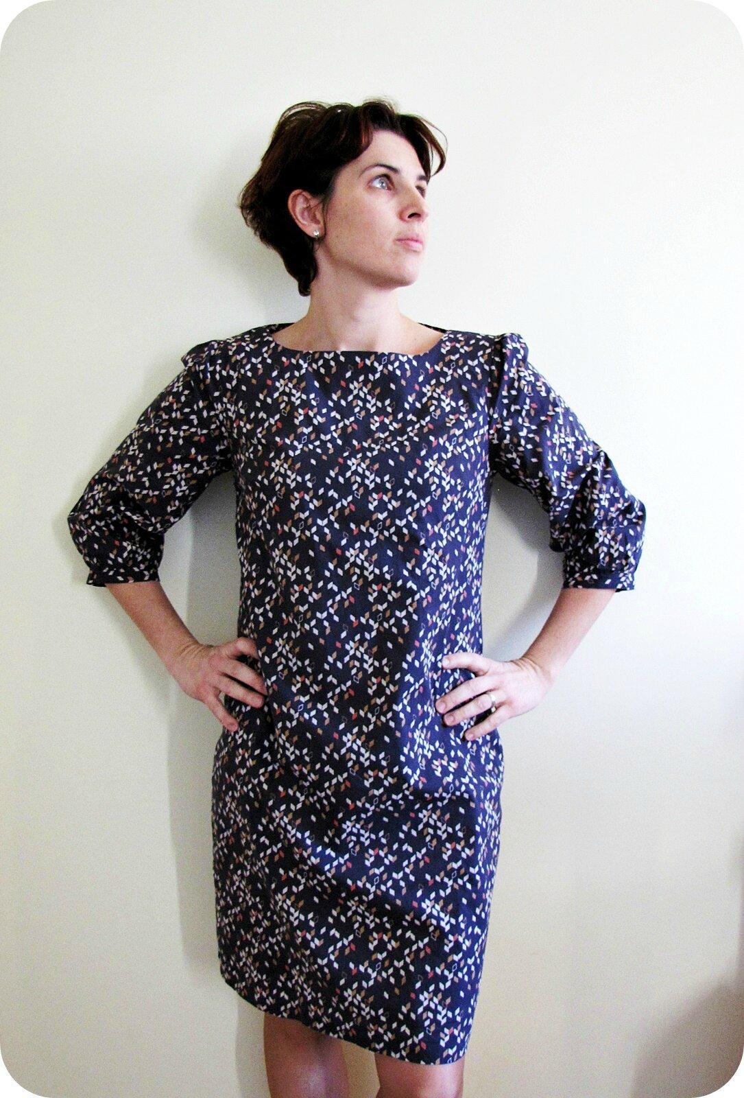 Bien-aimé La petite robe qui twist - Le Tricomonde de Sophie ML49