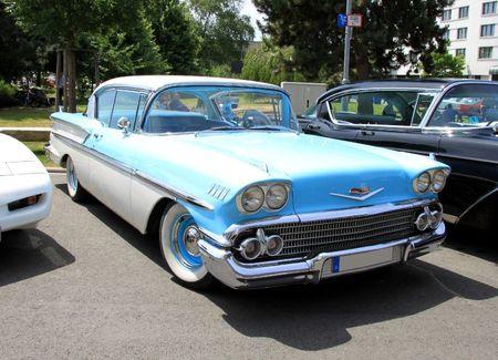 Chevrolet bel air hardtop sedan 2 door de 1958 (RegioMotoClassica 2011) 01