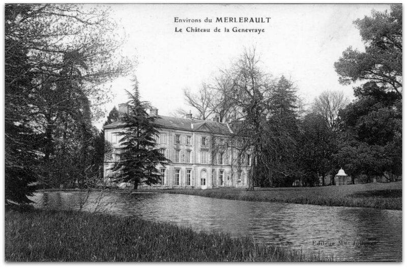 Genevraye château z