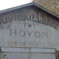 Où se trouve l'ancien entrepôt hoyon dans epernay ?