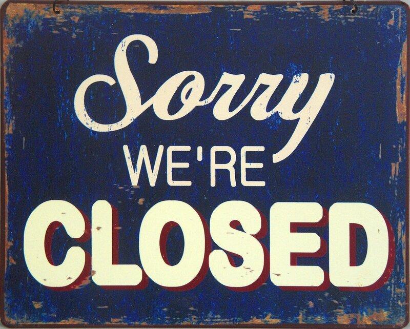 Blog fermé !