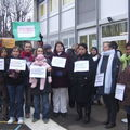 Occupation Groupe scolaire st Exupéry 16/12/08 2