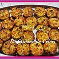 Minis flans aux patates douces & poireaux