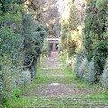 Pergola, patek et escaliers classés