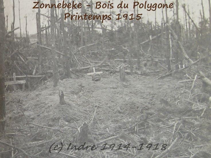Sepultures provisoires du bois du Polygone