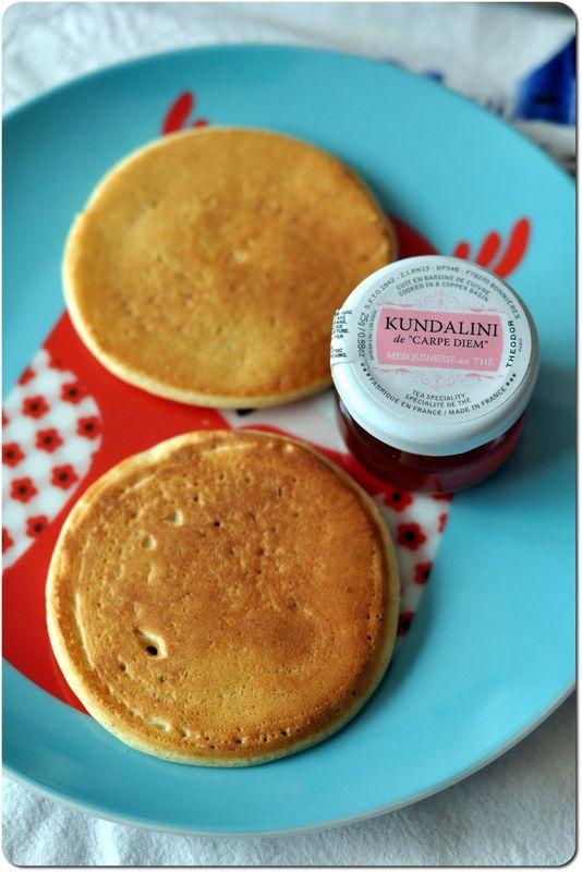 Panca E Turn Kundalini : Semaine spécial brunch ★ pancakes à la ricotta et