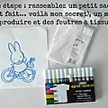 Diy le tote bag miffy