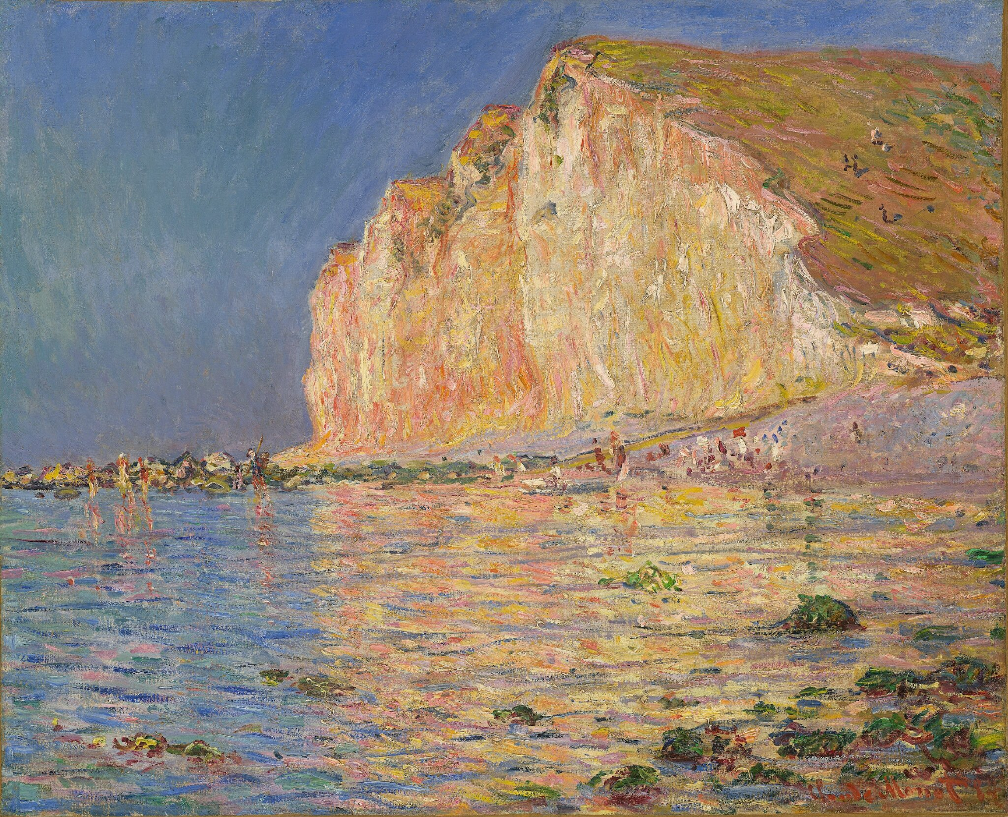 monets water lilllies in private collection
