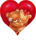 st valentin nounours