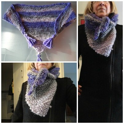 Simple luxury giant scarf
