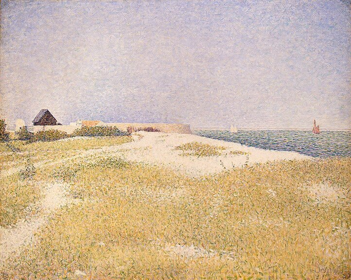 Georges_Seurat_-_View_of_Fort_Samson-001