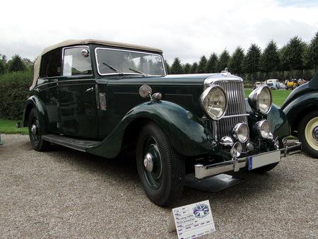 ARMSTRONG SIDDELEY 20 25 Salmsons & Tickford Drophead Coupe Convertible 1936 Classic Gala de Schwetzingen 2009 1