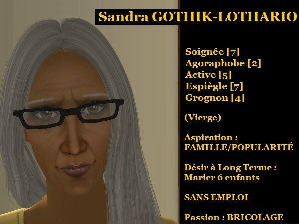 Sandra GOTHIK-LOTHARIO