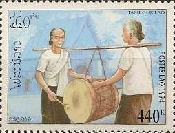 Percussion Timbre Laos 1994