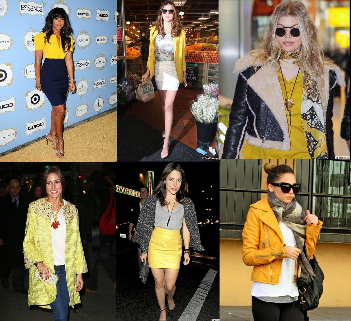 Avec quoi mettre une veste jaune
