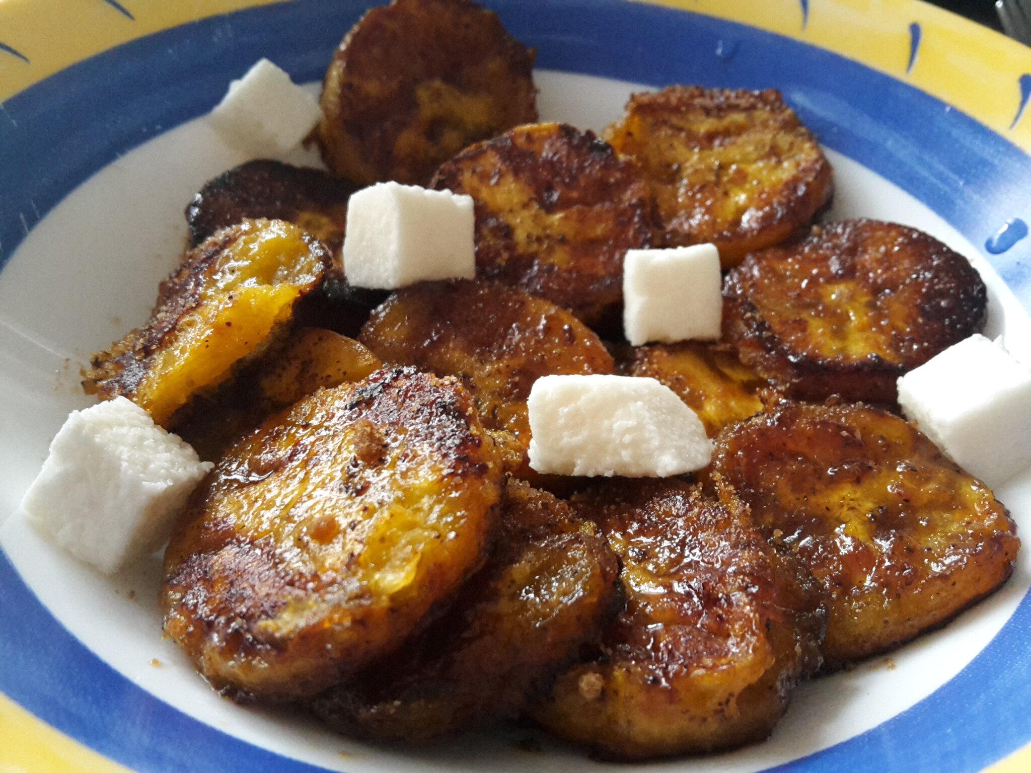 De la banane plantain oui mais en dessert les for Banane plantain au barbecue