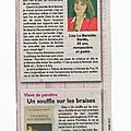 Le courrier independant du 8 mars 2013