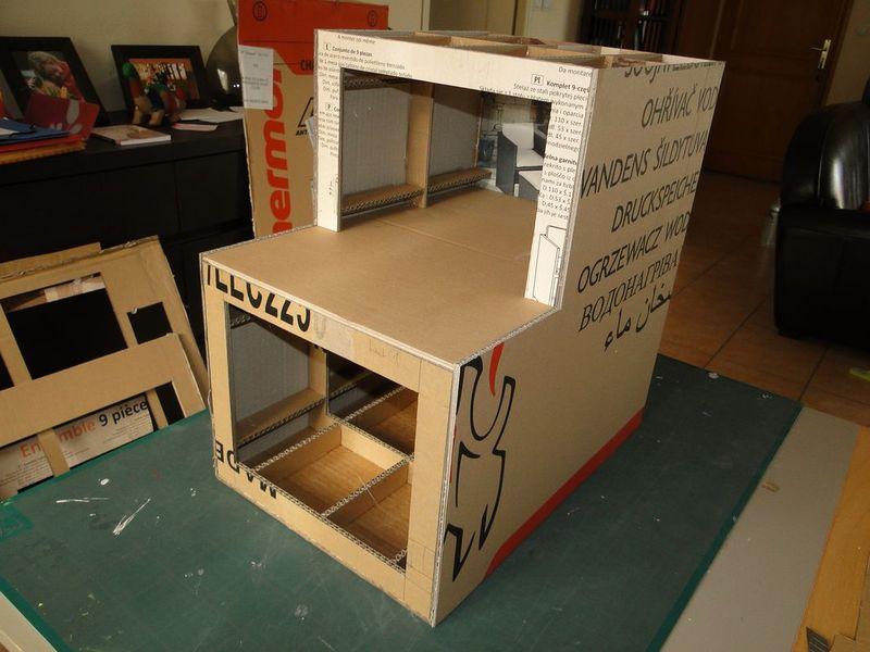 Structure et roues termin es demain on meubles en - Construire une table de chevet ...
