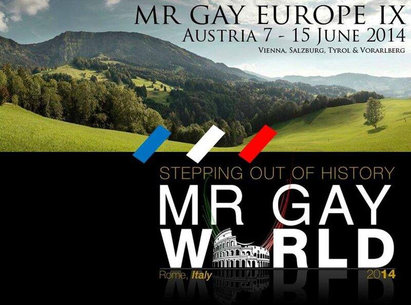 Mr Gay Europe Monde 2014