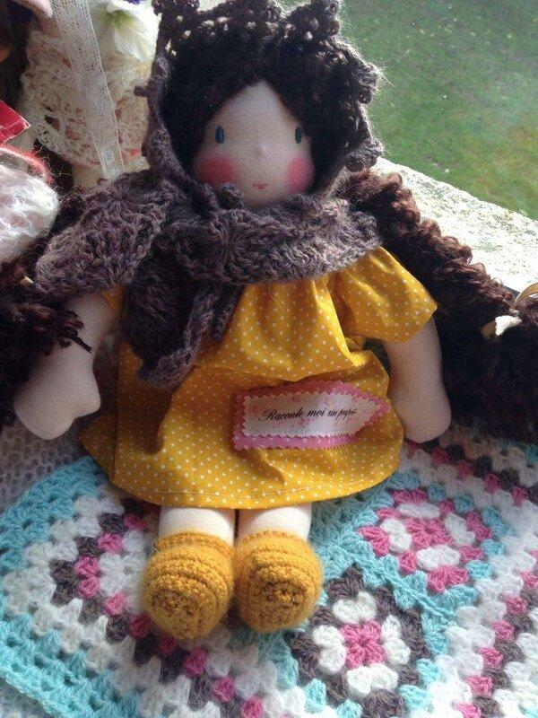 doll poupee artisanale fait main