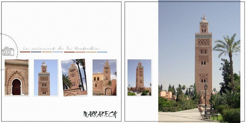 Minaret - Maroc - DP 15-16 - Pimprenelle - scrapatchwork - template_Aquarelles_1800