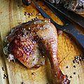 Poulet du dimanche au sirop d'érable et épices