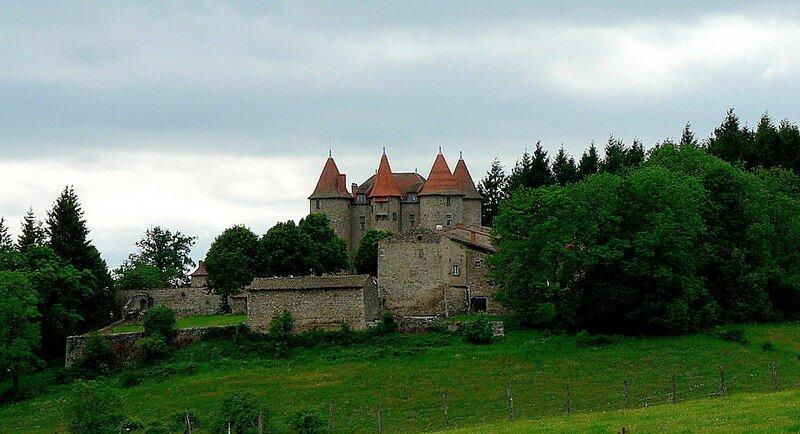 château de Montfort Le Vernet-La Varenne