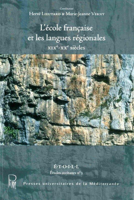 Ecole et langues régionales