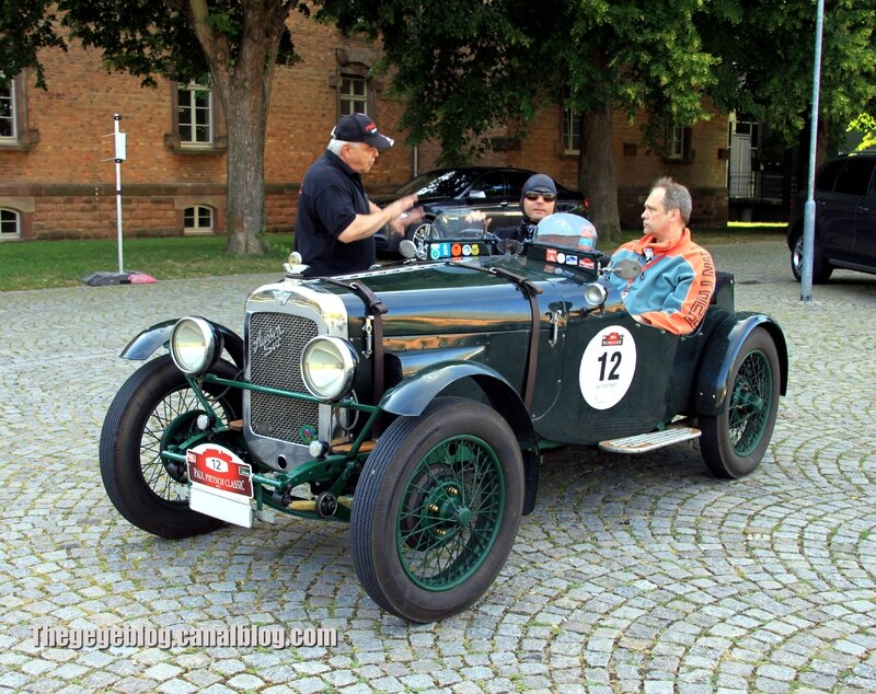 Austin 12-6 super sports special de 1930 (Paul Pietsch Classic 2014) 01