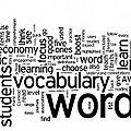 Le vocabulaire utiles aux acteurs du transport
