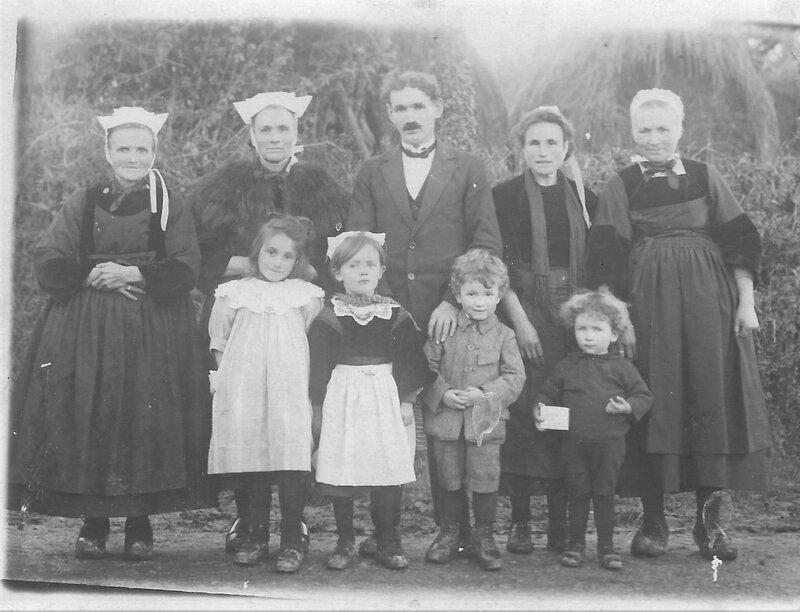 2éme mariage le 7 Avril 1927 Queffelec Le Borgne