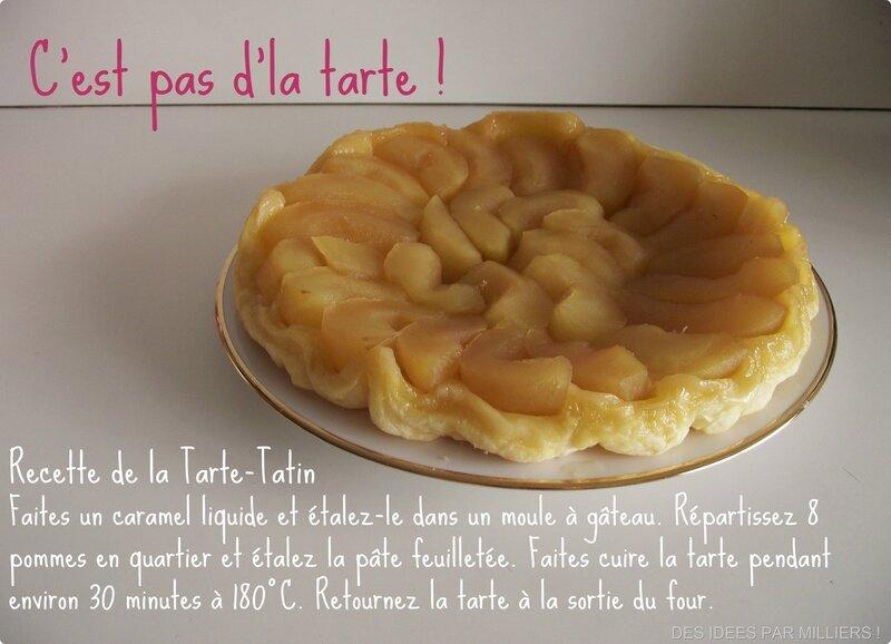 Recette facile de la tarte tatin - Des Idées Par Milliers