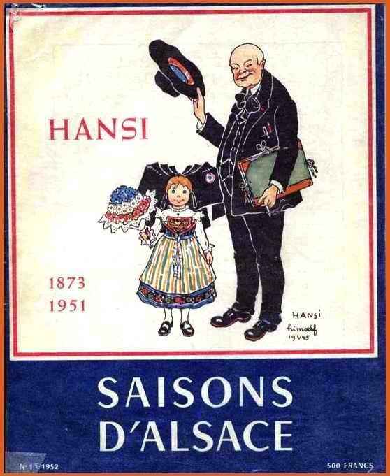 Hansi, patriote alsacien français