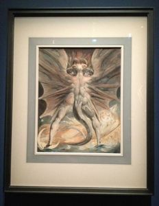 L'ange du Bizarre, le romantisme noir- William Blake, Le grand Dragon rouge et la femme vêtue de soleil, 1804