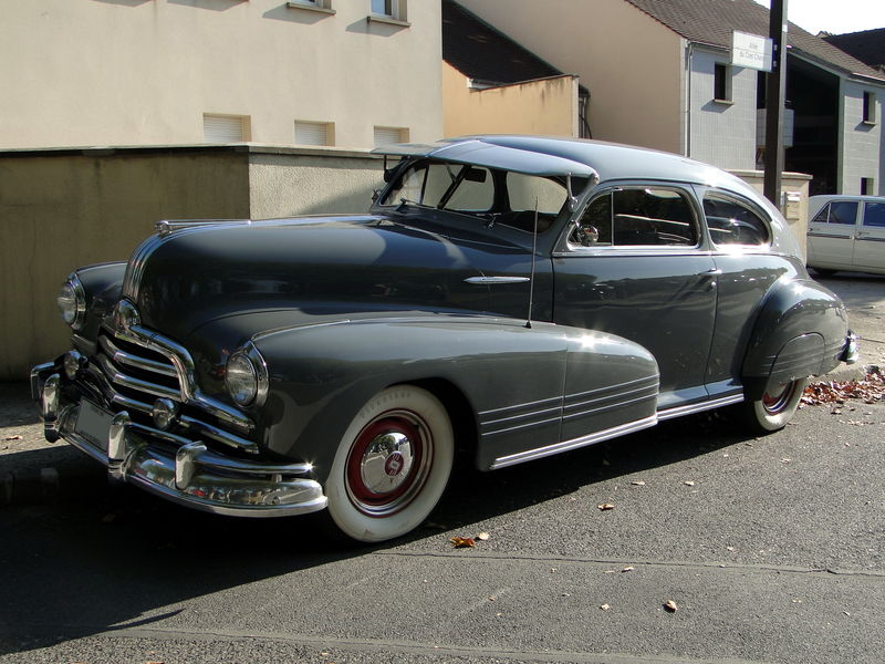 Pontiac Streamliner Six Or Eight Sedan Coupe 1947