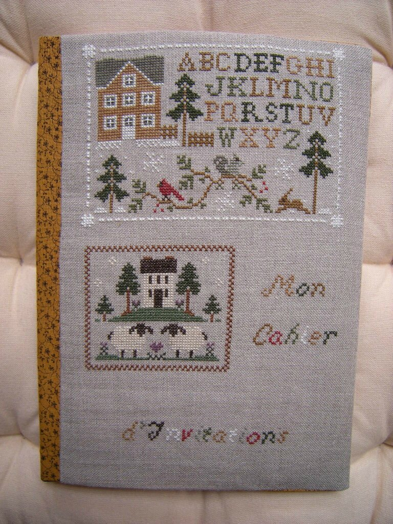 Wool Needlebook...& Woodland Sampling