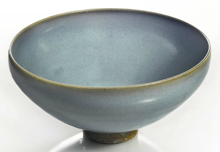 A large lavender-blue 'Jun' bowl, Song-Jin dynasty