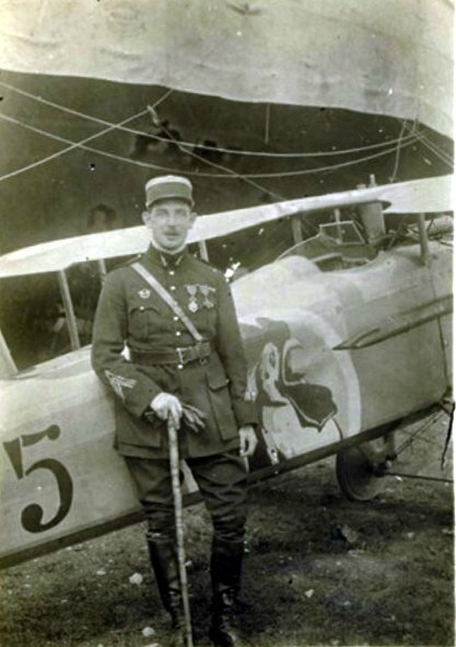 1917-09-17 Captaine Jean MATTON aviateur b