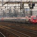 TGV Thalys PBKA, depuis la gare Stade de France, Paris