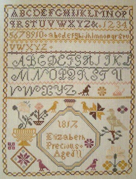 Elizabeth Precious 1817, brodé par Mand